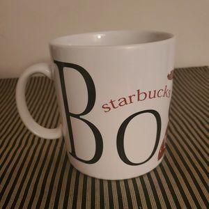 Starbucks Boston City Mug Collector Series